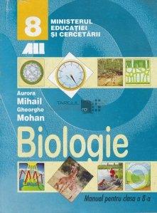Biologie : manual pentru clasa a VIII-a