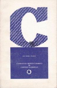 Literatura romana baroca in contextul european