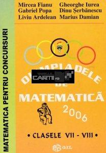 Olimpiadele de matematica