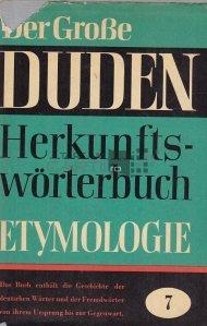 Duden. Etymologie / Dictionar. Etimologie