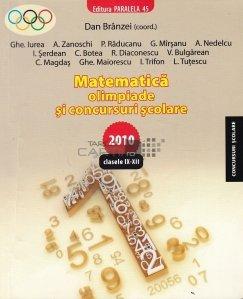 Matematica. Olimpiade si concursuri scolare