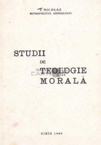 Studii de teologie morala