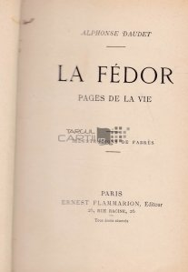 La Fedor / Fedorul