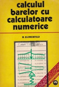 Calculul barelor cu calculatoare numerice