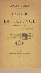 L'avenir de la science / Viitorul stiintei;Ganduri de la 1848