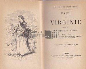 Paul et Virginie / Paul si Virgina ; urmata de cabana indiana