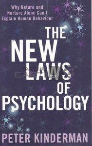 The new laws of psychology / Noile legi ale psihologiei;De ce natura si evolutia nu pot deslusi comportamentul uman