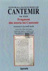 Fragment din istoria lui Cantemir