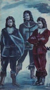 Les trois mousqetaires / Cei trei muschetari