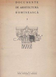 Documente de arhitectura romineasca