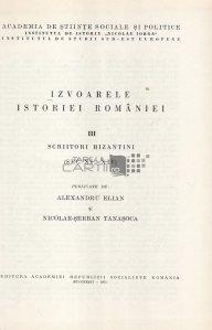 Fontes Historiae Daco-Romanae III / Izvoarele istoriei Romaniei