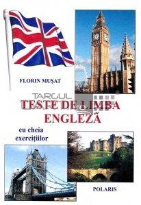 Testede limba engleza