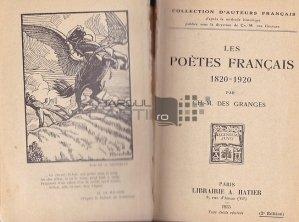 Les poetes francais 1820-1920 / Poetii francezi 1820-1920