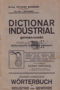 Dictionar industrial german-roman