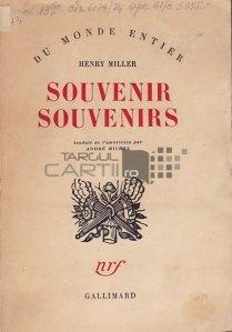 Souvenir Souvenirs / Amintire amintiri