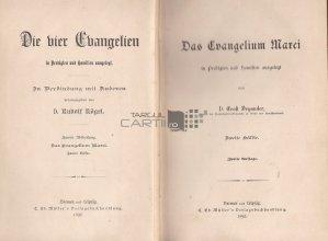 Das Evangelium Marci / Evanghelia lui Marcu volumul 2
