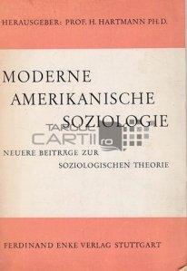Moderne Amerikanische Soziologie / Sociologia americana moderna