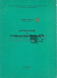 Anthologie de textes litteraires francais / Antologie de texte literare franceze