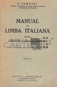 Manual de limba italiana