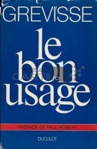 Le bon usage / Buna utilizare a gramaticii franceze