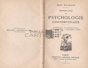 Nouveuaux essais de psychologie contemporaine / Noi incercari de psihologie contemporana