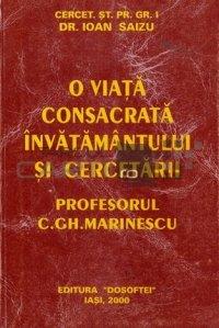 O viata consacrata invatamantului si cercetarii
