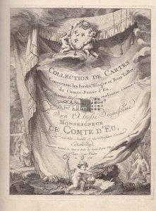 Collection de cartes concernant les forets, triages et bois taillis du Comte-Pairie D'Eu / Colectie de harti privind padurile si curtile Contelui Pairie D'Eu