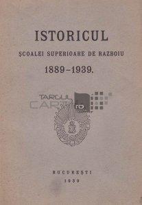 Istoricul scoalei superioare de razboiu 1889-1939