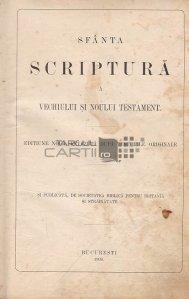 Sfanta Scriptura a Vechiului si Noului Testament