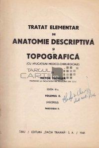 Tratat elementar de anatomie descriptiva si topografica