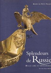 Splendeurs de la Russie / Splendorile Rusiei;1000 de ani de mestesug in tehnica aurului