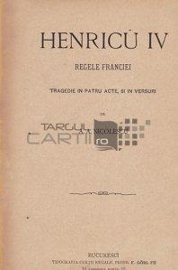 Henricu IV regele Franciei