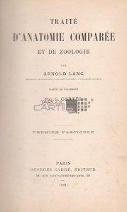 Traite d'anatomie comparee et de zoologie / Tratat de anatomie comparata si de zoologie