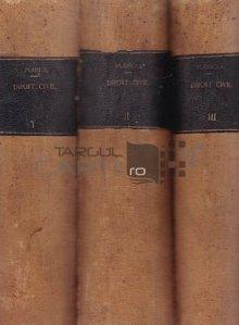 Traite elementaire de droit civil / Tratat elementar de drept civil