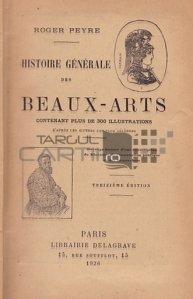 Histoire generale des beaux-arts / Istoria generala a artelor frumoase
