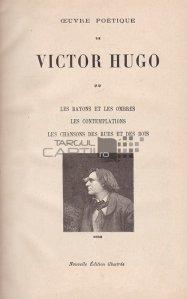 Oeuvre poetique / Opera poetica;Lumini si umbre; Contemplatiile;Cantecele strazilor si ale padurilor