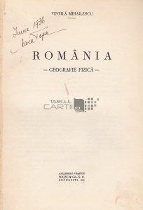 Romania geografie fizica