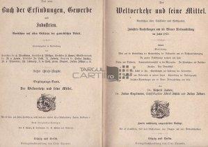 Das neue Buch der Erfindungen, Gewerbe und Industrien / Noua carte de invenții, meserii și industriiTraficul mondial și mijloacele sale