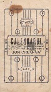 Calendarul revistei de limba, literatura si arta populara Ion Creanga