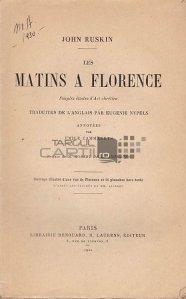Les matins a Florence / Diminetile la Florenta;simple studii de arta crestina