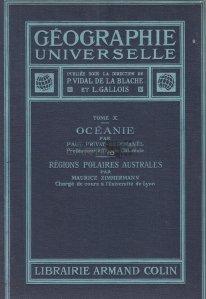 Geographie Universelle / Oceania; Regiuni polare australe