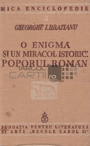 O enigma si un miracol istoric:poporul roman