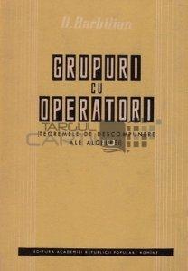 Grupuri cu operatori