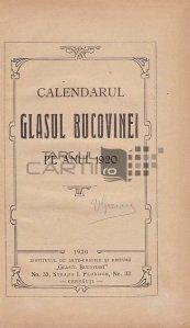 Calendarul Glasul Bucovinei