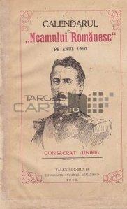 Calendarul neamului romanesc pe anul 1910
