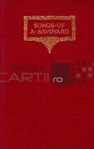 Songs of a savoyard / Cantecele unui savoiard