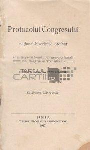 Protocolul congresului national-bisericesc ordinar