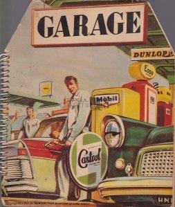 Garage Djeco Dunlop Castrol / Garajul Deco