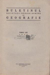 Buletinul societatii regale romane de geografie