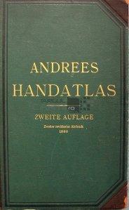 Allgemeiner Handatlas / Atlas complet cu 120 de harti